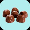 Bombons e Trufas de Chocolate